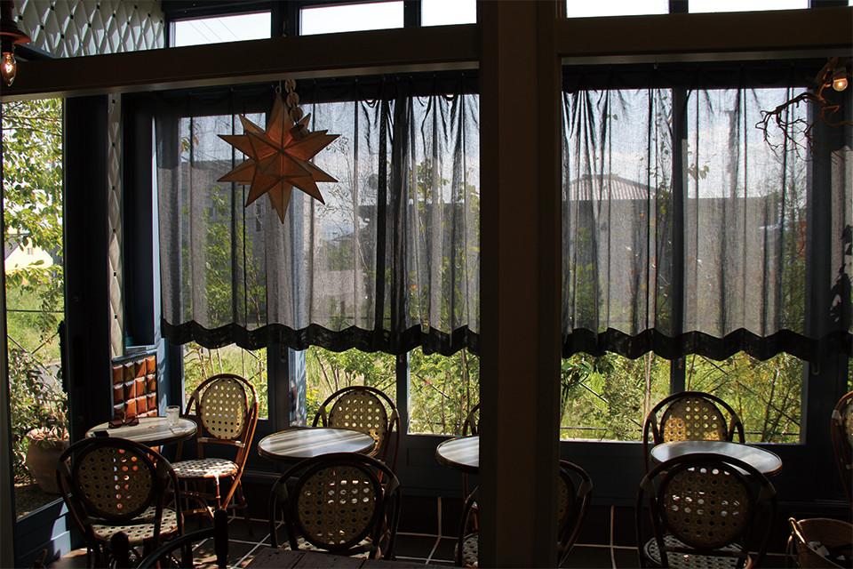 パティスリークリアン 喫茶室